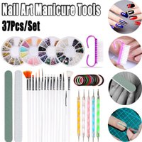 Nails Art Beginners Manicure Set Various Mixed Type Nail Bru...
