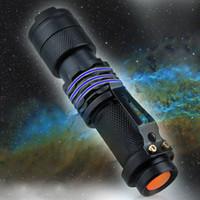 5 Renkler LED Taşınabilir Mini El Feneri Alüminyum Alaşım Teleskopik Odak Su Geçirmez El Feneri Kamp Yürüyüş Acil Meşaleler DS0563 CY