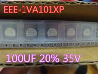 Электронные компоненты 50 шт. / Лот конденсаторы EEE-1VA101XP 100UF 20% 35 В