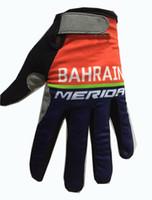 الشتاء الصوف الحراري 2017 2018 البحرين ميريدا برو فريق 2 ألوان الدراجات الدراجات قفازات دراجة جل صدمات الرياضية كاملة فنجر قفاز
