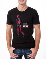 Dead Pool T- shirt Retro Bad Ass Crime Fighter Funny Movie Fi...