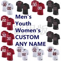 2019 Alabama Crimson Tide Jerseys Josh Jacobs Jersey Dylan Moses Irv Smith Jr Taulia Tagovailoa NCAA College Football Jersey costurado personalizado
