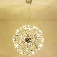 Manggic الحديثة الهندباء كريستال الثريا بقيادة مصباح غرفة الطعام مصباح غرفة نوم كريستال الثريا ac110v ~ 240 فولت