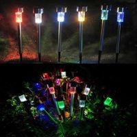 RGB / 백색의 크기 통제가 지상 통제 옥외 정원 배치에 BRELONG LED 태양 방수 잔디밭 빛에 의하여 점화합니다