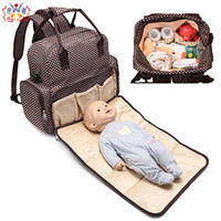 Baby Bag For Mommy Diaper Bag Large Capacity Waterproof Trav...