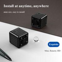 Mini Cube Design Малая видеокамера IP-камера Wi-Fi пульт дистанционного управления Smart Cam 1080P широкоугольный наклон 170 градусов