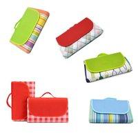 Faltbare handlicher Mat mit Gurt Perfekt für Picknick Strände RV und Ausflüge Wetter-Proof und Mold Mildew Resistan Außen Garden Supplies