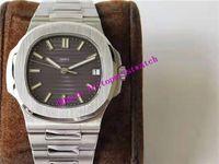 PPF V4 NAUTILUS 5711 спортивные часы Swiss 324SC автоматические механические мужские часы 28800 VPH сапфировое стекло нержавеющая сталь супер световой