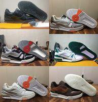 Virgil Abloh timsah kabartmalı siyah Gri Beyaz Yeşil dana derisi Fransız Tasarımcı Ayakkabı sneaker 2020 Yeni Eğitici sneaker intage basketbol