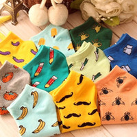 New Cute 11 fruit color love candy color cotton sock summer ...