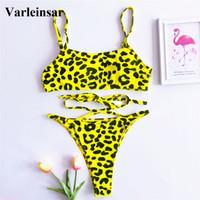 c8f46c6e9ea New Arrival. 4 Colors New Sexy Leopard 2019 Bikini Women Swimwear Female  Swimsuit Two-pieces Bikini set Thong Bather Bathing ...