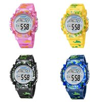 Brand Electronic Sport Wristwatch Student Children Watch Kid...
