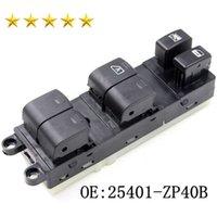 Fenêtre d'alimentation électrique Interrupteur principal 25401ZP40B Pour 2005-2007 N Issan Pathfinder 25401ZP40B fenêtre de voiture de haute qualité Lifter Commutateur