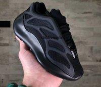 아기 아이 Kanye West 700 V3 러닝 신발 소년 소녀 운동화 웨이브 러너 신발 700 스포츠 신발 어린이 운동화 회색