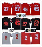 2020 Patch Ohio State 27 Eddie George 45 Archie Griffin 1 Justin Fields 2 Chase Young 7 Dwayne Haskins Jr.97 Nick Bosa Jersey 150 Th Patch