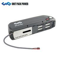 يشحن من الولايات المتحدة الأمريكية Hailong Battery 48V 16Ah Electric Bicycle Battery with Panasonic Cell E-bike Battery pack for 750W 1000W Motor
