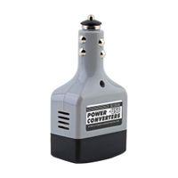 Автомобильный преобразователь преобразователь постоянного тока 12 В / 24 В в переменный ток 220 В зарядное устройство + USB новая бесплатная доставка