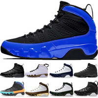 Nova arriive 9 9s preto Bue tênis de basquete homens Dream It Breed LA Antracite OG space jam Mop Melo Trainer Sneakers
