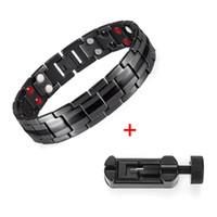 Bracelet en acier inoxydable en acier en acier inoxydable en acier inoxydable Fashion Hommes Couple de bracelet en acier Titane