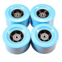 2ocs Skateboard Longboard Rad 90 * 52mm 78A für DIY elektrisches Skateboard