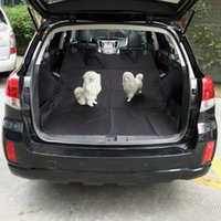 Pet Carriers Car Pets Seat Cover Dog Dog Back Cushion Pet Mat Hamaca impermeable del asiento del perro Suministros