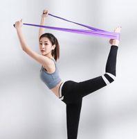 1.2 м ТПЭ ТПР группы йоги эластичный фитнес-тренировки группы пластин диапазоны сопротивления йога расширение группы упражнения пояс