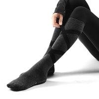 الرياضة الجوارب الجوارب جولة رئيس الطابق ضغط طفيف ملابس مقاومة للجوارب ضمادة أزياء نمط جديد من القطن للنساء