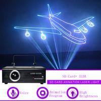 500mw ILDA SD Card RGB Animation DMX Laser Projector Light Home Gig Party DJ Show Professional Stage Lighting F500