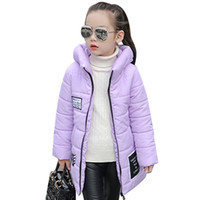 Children Baby Girls Winter Coat Kid Cotton Padded Hooded Jac...