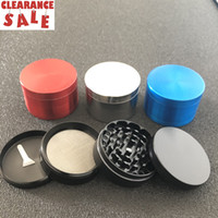 Clearance tobacco smoking grinder top quality zinc alloy 63m...