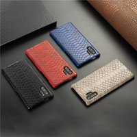 Luxury Snake Skin Leather Case for Samsung Galaxy S10 S9 Plu...