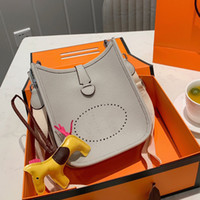 핸드백 지갑 크로스 바디 가방 일반 리치 패턴 벨트 패션 H 편지 너비 벨트 레이디 클래식 정품 가죽 단일 어깨 가방