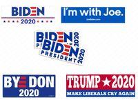2020年大統領のためのJoe Bumiden 2020バンパーステッカードナルドトランプカーステッカーPVCデカールアメリカキャンペーンパターンシューワンアクセサリーD62903