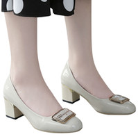 YOUYEDIAN Solid Women Shoes Elegant Low Heels Slip On Cover ...