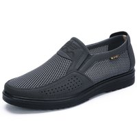 38- 48 Men' S Casual Shoes Men Summer Style Mesh Flats Fo...