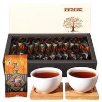 Yunnan uralten Baum Mini lose Reife Puer Tee Bio Natural Black Pu'er Tee 125g Preference Alter Baum Gekochte Puer Tee Geschenkkarton