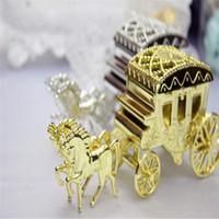 Avrupa Stilleri Romantik Taşıma Şeker Kutuları Araba Düğün Favor Tutucu Çikolata Hediye Kutuları Düğün Hatıra Eşyası Düğün Süslemeleri Için