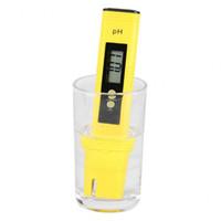 Venta al por mayor caliente 60 unids Digital PH Tester Pocket Portable Piscina Agua de vino Calidad Acuario Hidroponía Meter SN2102