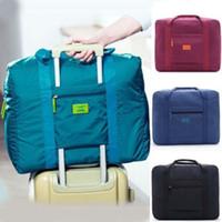 الولايات المتحدة طوي السفر تخزين الأمتعة حمل المنظم حقيبة اليد الكتف حقيبة