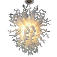 Home Decoração Sala de estar Lâmpada Levado Luzes Pingente Office Hotel Villa Art Iluminação Showroom Club Restaurante Mão Brown Glass Candeleiro