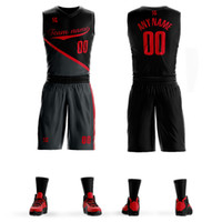 Custom Men Youth Basketball Jersey Uniforms Team Sport Track...
