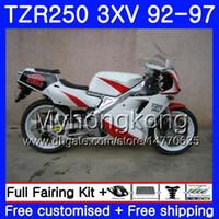 Kit per YAMAHA TZR 250 3XV YPVS top stock bianco TZR-250 92 93 94 95 96 97 245HM.21 TZR250RR RS TZR250 1992 1993 1994 1995 1996 1997 Carena