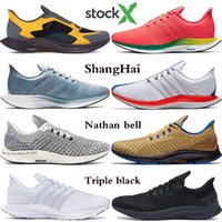 Les nouveaux hommes turbo Pegasus 35 arrivée des femmes chaussures de course rn or club mouche humide shanghai dard d'or sapin REACT baskets styliste