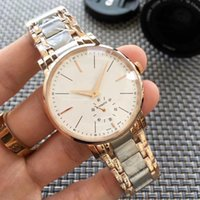 Hot style high-end watch men high-end mechanical hand calendar life waterproof stainless steel watchband butterfly buckle