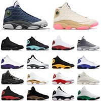 Nike air jordan retro 13 12 11 4 shoes 13s chanceux Green Island Vert Chaussures Hommes Basketball 11s Bred 9s Gym rouge 4s Loyal Bleu Travis Cactus Jack 6 12s chaussures de sport