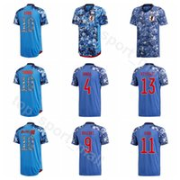 2020 Giappone Japan Jersey Jersey Men 10 Kagawa 18 Okazaki 20 Ogawa 4 Honda 9 Suzuki 11 Tagawa 8 Ideguchi Camicia da calcio Kit uniforme