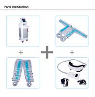 Riscaldamento e pressione dell'aria tute sistema dimagrante iperbarico terapia ossigeno 3 nelle apparecchiature macchina 1 pressoterapia corpo pieno