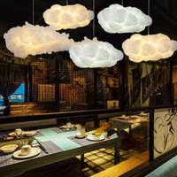 الحلي محاكاة الغيوم الأبيض 3D ثلاثي الأبعاد الرومانسية سحابة القطن الزخرفية خلفية زفاف الدعائم عيد ميلاد الحزب DIY الديكور