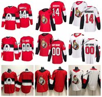 2019 Alexandre Burrows Camisolas De Hóquei Ottawa Senators 100 Clássico Dos Homens Nome Personalizado Casa Red # 14 Alexandre Burrows Costurado Camisas de Hóquei