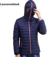 Lawrenceblack зимние куртки мужские парки с очками ватник с капюшоном мужские теплые Camperas дети ветрозащитная стеганая куртка 839